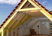 Строительство двухскатной крыши своими руками