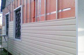 Утепление кирпичного дома снаружи пенополистиролом под сайдинг