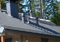 Вентиляционная труба для вытяжки на крышу