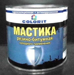 резино-битумная мастика холодного применения