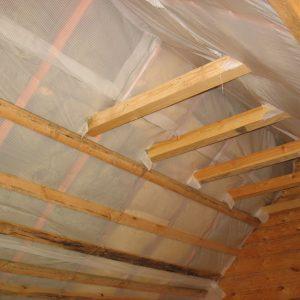 Изоляция крыши пленкой ПВХ