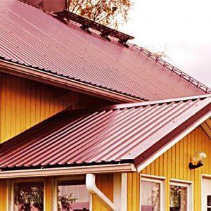 Крыша из профнатила
