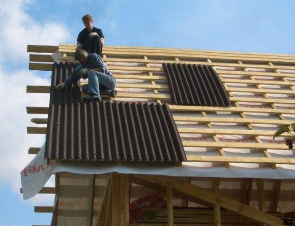 Как крепить шифер на крыше