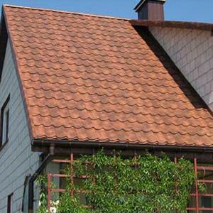 Крыша покрытая Монтеррей Клауди