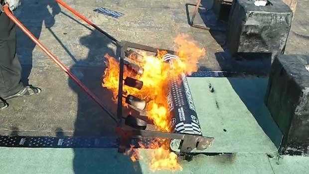 Газовая горелка для монтажа кровли