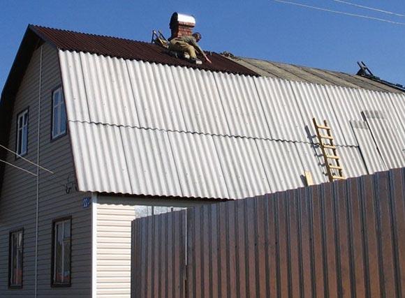 Как покрыть крышу шифером самостоятельно