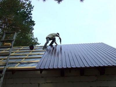 чем покрыть крышу гаража своими руками