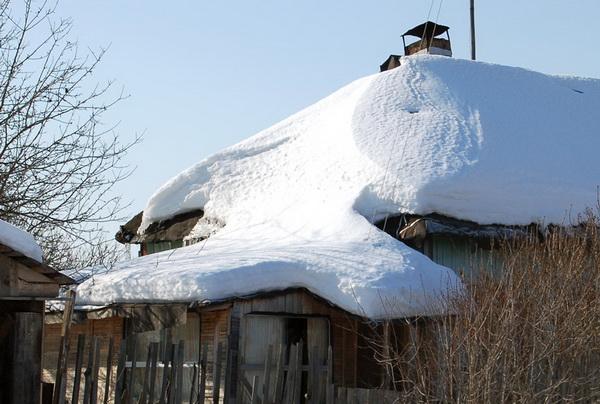Допустимая снеговая нагрузка на крышу