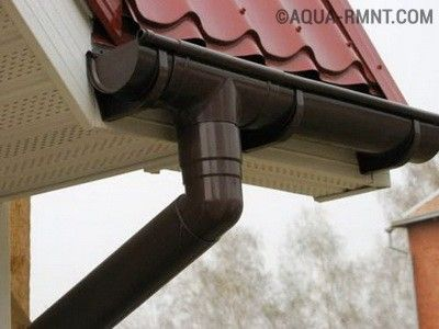 Разбираемся в устройстве ливневки для крыши
