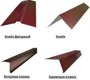 Устанавливаем карнизную планку для металлочерепицы