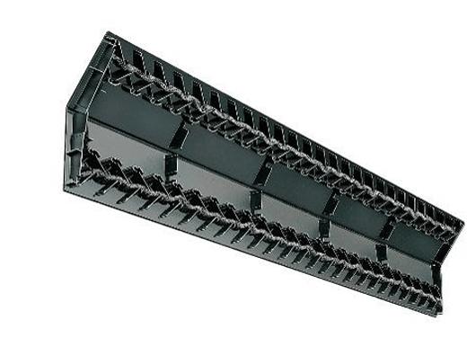 Пластиковый коньковый аэратор Ridge Master с ребрами жесткости