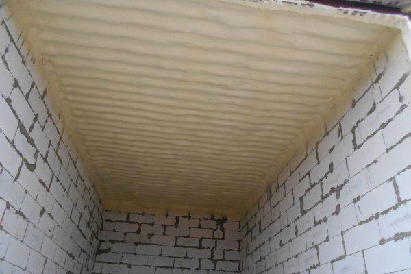 Утепление крыши в гараже пензопилом