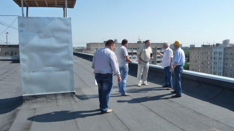 Согласование места размещения антенны на крыше дома