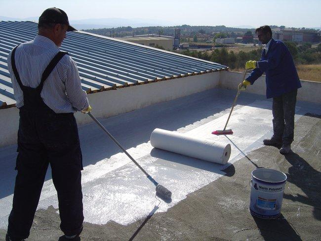 Окрасочная пароизоляция крыши