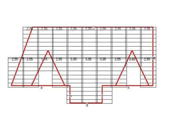 Расчет количества кровельного материала для крыши