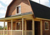 Изучаем проекты домов с ломаной мансардной крышей