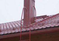 Чертежи лестницы для крыши