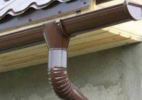 Как правильно установить отливы на крыше?