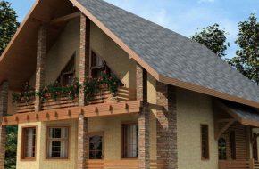 Как правильно рассчитать площадь двухскатной крыши?