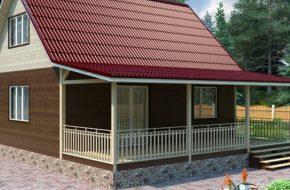 Вычисляем оптимальный угол наклона двухскатной крыши