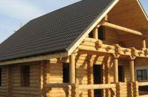 Какая кровля лучше подходит для деревянного дома?