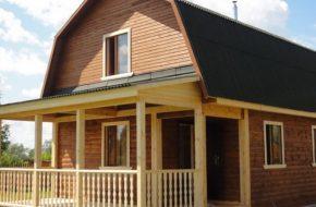 Изучаем устройство мансардной крыши частного дома