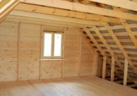 Как утеплить крышу минватой изнутри?