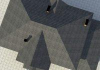 Четырёхскатная крыша: стропильная система