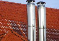 Какая высота трубы дымохода над крышей должна быть?