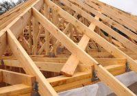 Шатровая крыша: стропильная система